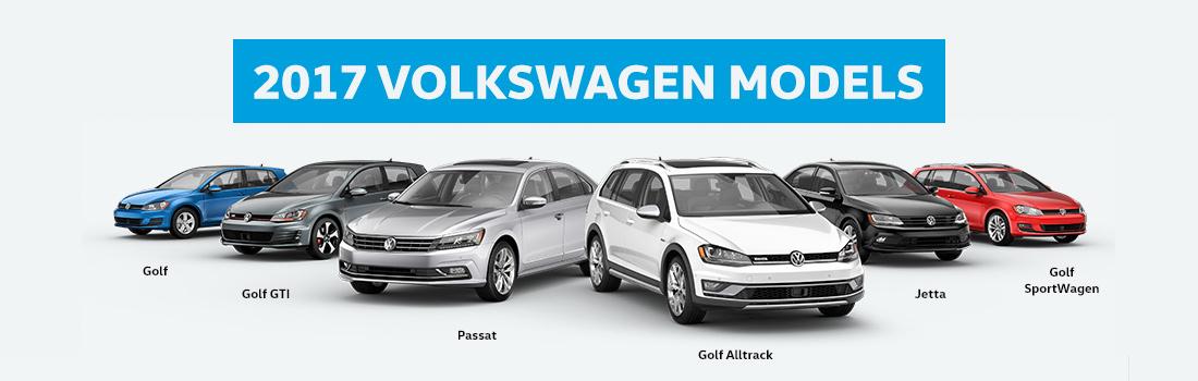 2017 VW Lineup