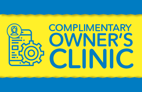 Complimentary Owners Clinic