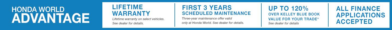 Honda World Advantage