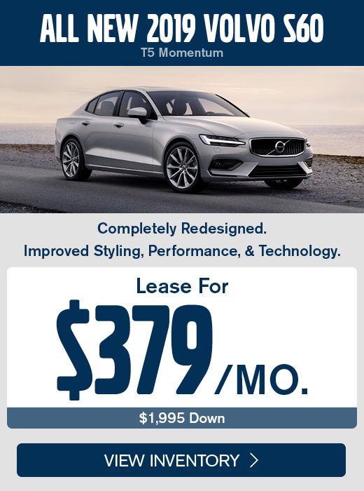 All New 2019 Volvo S60 T5 Momentum