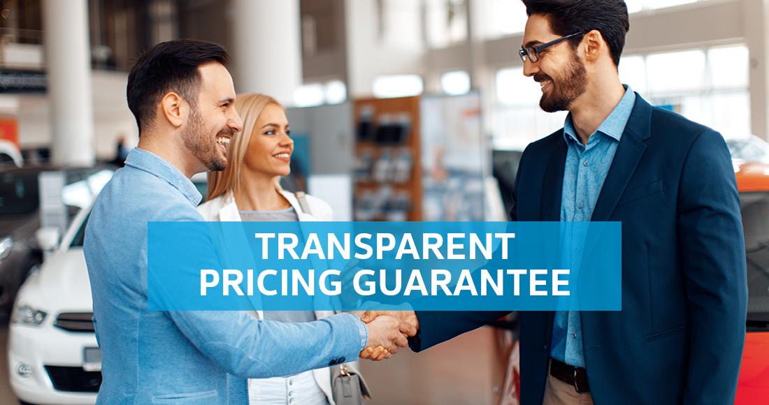 Transparent Pricing Guarantee